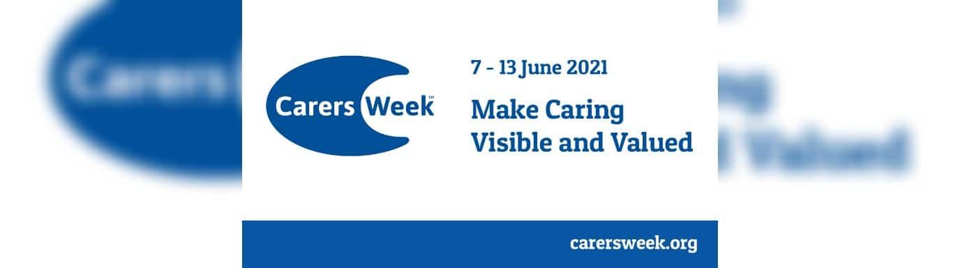 Carers week 2021 branded heading